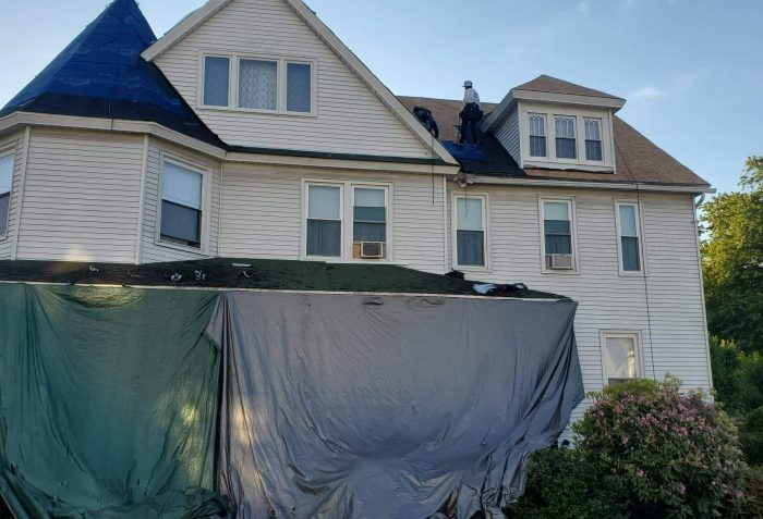 Archbald Roof Installation